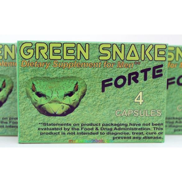 Green Snake forte 4 db