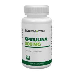 Biocom Spirulina kapszula  100db