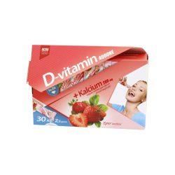 OCSO D vitamin 4000 NE + Kalcium 200 mg  granulátum  30x2,5gr