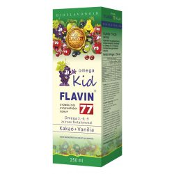 Flavin77 Omega Kid szirup 250ml (green)
