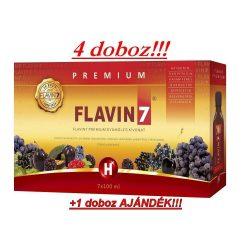 Flavin7 Prémium 4x7x100ml + Ajándék 1 doboz Flavin7 7x100ml