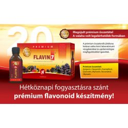 Flavin7 Prémium 12x7x100ml + Ajándék 6 doboz Flavin7 7x100ml