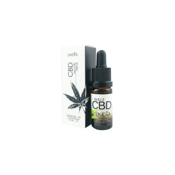 India 5%-os CBD olaj 10 ml