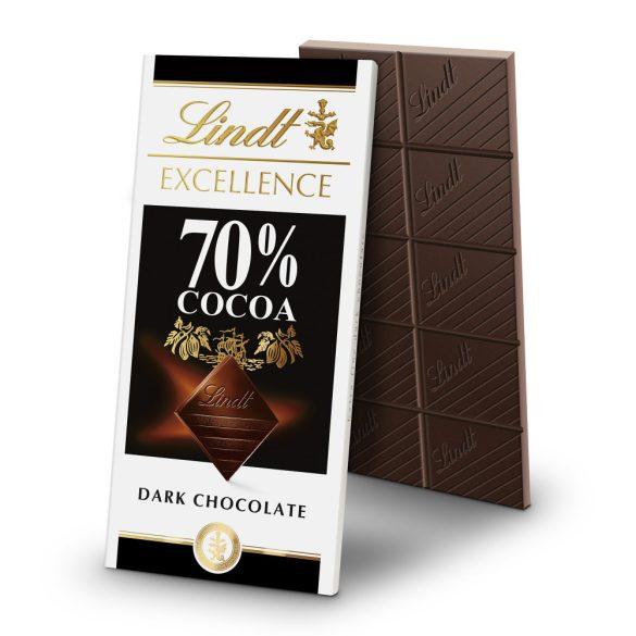 Lindt Exellence Étcsokoládé 70% 100 g