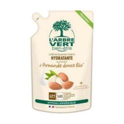 Larbre Vert folyékony szappan utántöltő édes mandula 300 ml