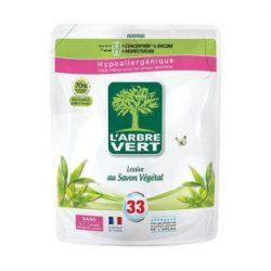 Larbre vert folyékony mosószer utántőltő növényi szappannal 1500 ml