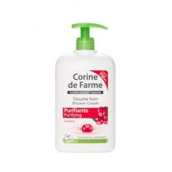 Corine De farme tusfürdő pumpás cranberry 750 ml