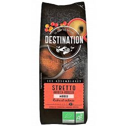 Destination 250 stretto italiano arabica/robusta - őrölt bio kávé 250 g