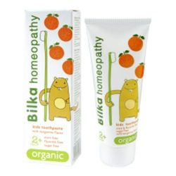 Bilka homeopátiás fogkrém mandarin  2+ 50 ml