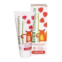 Bilka homeopátiás fogkrém málna 6+ 50 ml