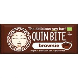 Quin Bite bio nyers desszert szelet brownie 30 g 30 g