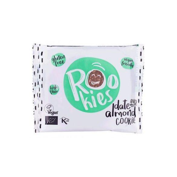 Rookies bio vegán zabos gyümölcskeksz datolya-mandula 40 g
