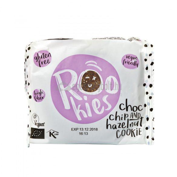 Rookies bio vegán zabos gyümölcskeksz csoki-törökmogyoró 40 g