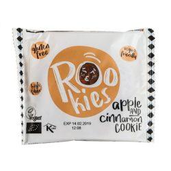 Rookies bio vegán zabos gyümölcskeksz alma-fahéj 40 g