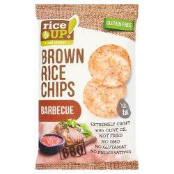 Rice Up barna rizs chips barbecue ízű 60 g