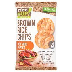 Rice Up barna rizs chips csípős chili ízű 60 g