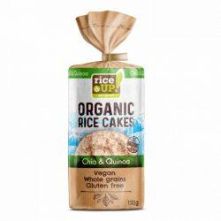 Rice Up bio szelet chia mag&quinoa 120 g