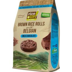 Rice Up snack puffasztott rizs korongok tejcsokis 50 g