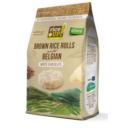 Rice Up snack puffasztott rizs korongok fehércsokis 50 g