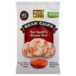 Rice Up proteines chips vörös lencsével 60 g