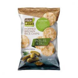 Rice Up chips uborkás ízű 60 g
