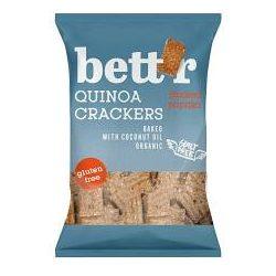 Bettr bio vegán gluténmentes quinoa kréker füstölt paprika 100 g