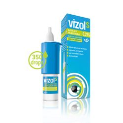 Vizol 0,21% oldatos szemcsepp fáradt szemre 10 ml
