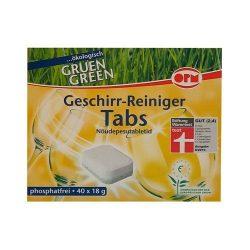 Opm green öko mosogatógép tabletta 40 db