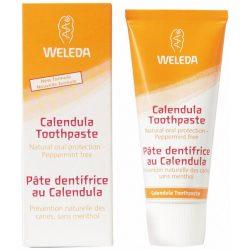 Weleda calendula gyógynövényes mentol mentes fogkrém 75 ml