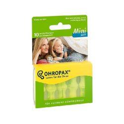 Ohropax mini soft füldugó 10 db