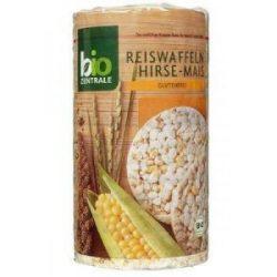 Bio-Zentrale bio puffasztott rizs-köles-kukorica 100 g