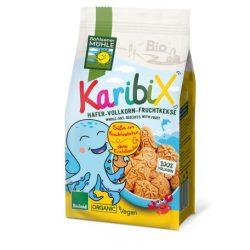 Bohlsener Mühle Bio Karibix Teljeskiőrlésű gyümölcsös zabkeksz 125 g