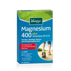Kneipp magnézium 400 plusz b+c+e vitaminokkal és folsavval 30 db