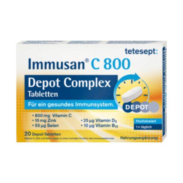 TETESEPT IMMUSAN C800 DEPOT COMPLEX TAB.