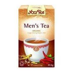 Yogi bio tea férfi 17x1,8g 31 g