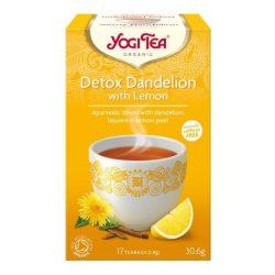 Yogi bio tea tisztító citrommal 17x1,8g 30,6 g