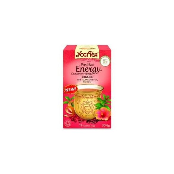Yogi bio tea pozitív energia 17x1,8g 31 g