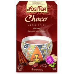 Yogi bio tea csokoládés azték fűszeres 17x2g 34 g