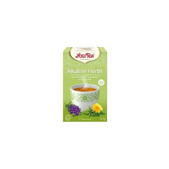 Yogi bio tea lúgosító gyógynövényes 34 g