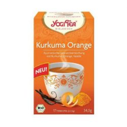 Yogi bio tea kurkuma narancs 17x2g 34 g