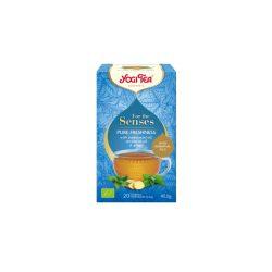 Yogi bio tea az érzékeknek tiszta frissesség 20x2g 40 g