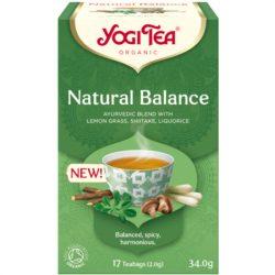 Yogi bio tea természetes egyensúly 17 db 34 g