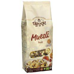 Bauck Hof bio gluténmentes müzli gyümölcsös 325 g