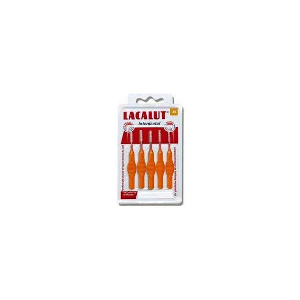 Lacalut interdental fogköztisztító kefe xs 5 db