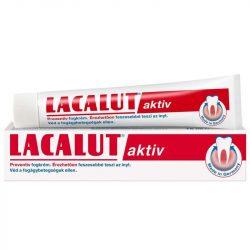 Lacalut aktiv fogkrém  75 ml