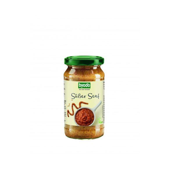 Byodo bio édes mustár 200 ml