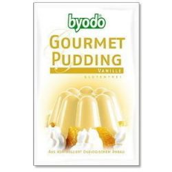 Byodo bio gluténmentes pudingpor vaníliás 40 g