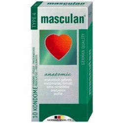 Óvszer masculan 4-es anatómiailag formált 10 db