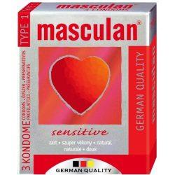 Óvszer masculan 1-es szupervékony 3 db