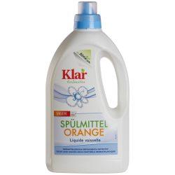 KLAR ÖKO-szenzitív narancsolajos mosogatószer 1,5 l